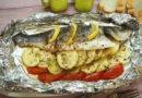 Запеченный сибас — рецепт приготовления в духовке