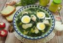 Суп из крапивы с курицей и яйцом — пошаговый рецепт
