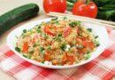 Фунчоза с креветками и овощами в соевом соусе — пошаговый рецепт